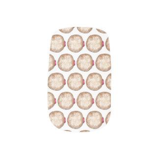 Hanukkah Jelly Donut Sufganiyot Chanukah Doughnut Minx Nail Art
