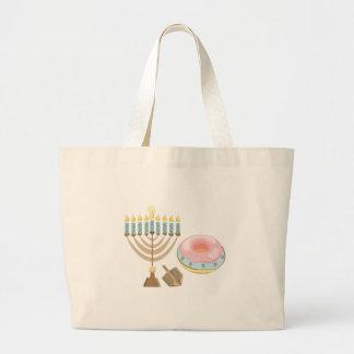 Hanukkah Large Tote Bag