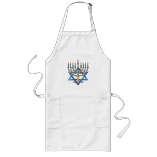 Hanukkah Long Apron