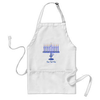 Hanukkah Menorah (customizable) Standard Apron