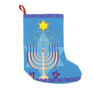 hanukkah menorah stocking