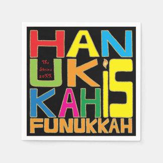 """Hanukkah Napkin Personalize """"Hanukkah Is Funukkah"""" Paper Napkins"""