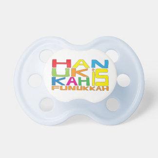 Hanukkah Pacifier BooginHead 0-6 Month Personalize