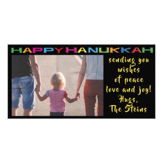 """Hanukkah Photo Card """"Happy Hanukkah"""""""