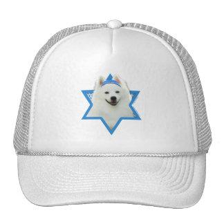 Hanukkah Star of David - American Eskimo Dog Trucker Hat
