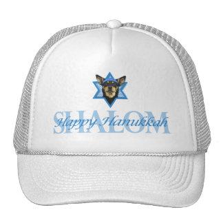 Hanukkah Star of David - Australian Kelpie Hat