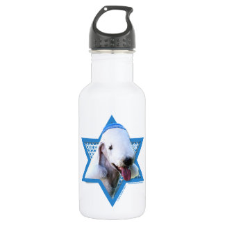 Hanukkah Star of David - Bedlington Terrier