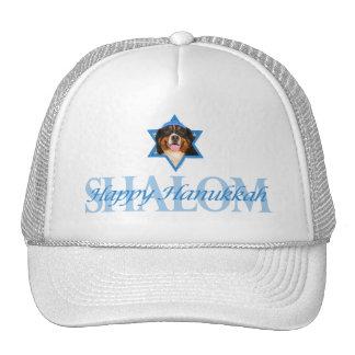 Hanukkah Star of David - Bernese Mountain Dog Mesh Hats