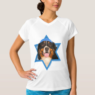 Hanukkah Star of David - Bernese Mountain Dog T-Shirt