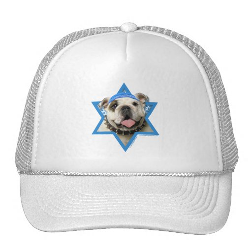 Hanukkah Star of David - Bulldog Hats