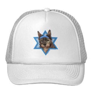 Hanukkah Star of David - Cairn Terrier - Trixie Trucker Hat