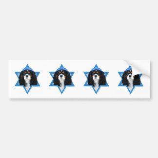 Hanukkah Star of David - Cavalier Bumper Stickers