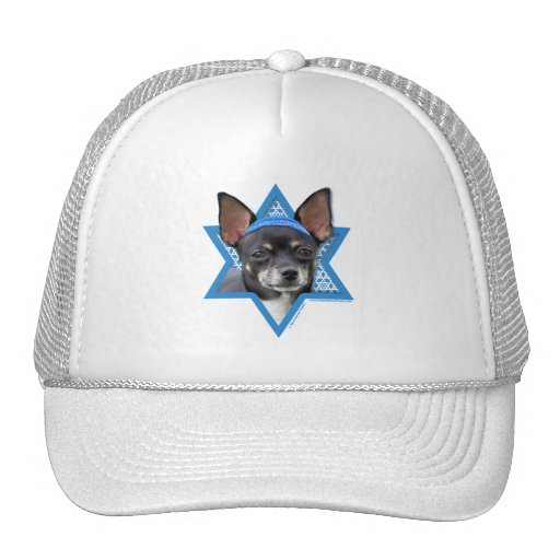 Hanukkah Star of David - Chihuahua Mesh Hat