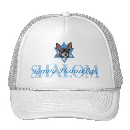 Hanukkah Star of David - Chihuahua Trucker Hats