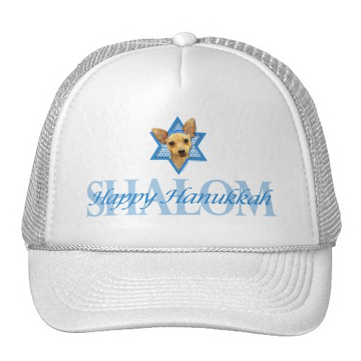 Hanukkah Star of David - Chihuahua Trucker Hat