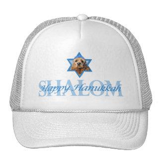 Hanukkah Star of David - Cocker Spaniel Trucker Hat