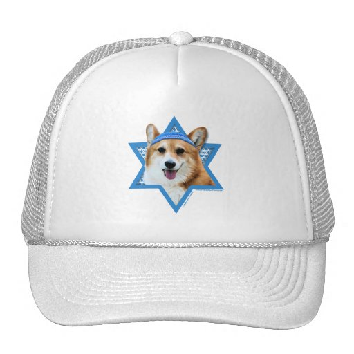 Hanukkah Star of David - Corgi - Owen Hats
