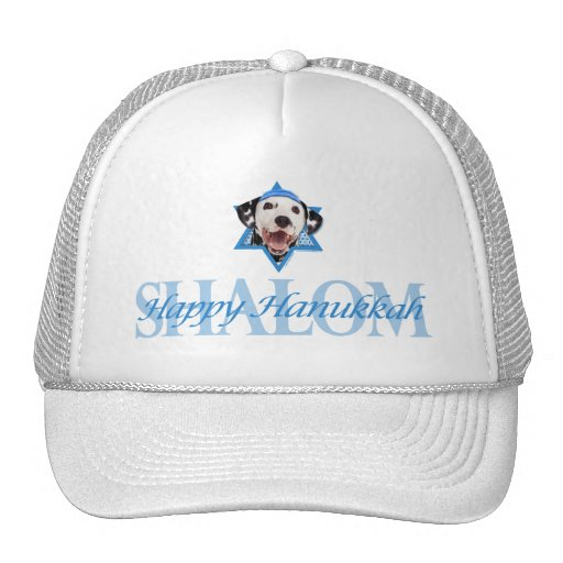 Hanukkah Star of David - Dalmatian Hats