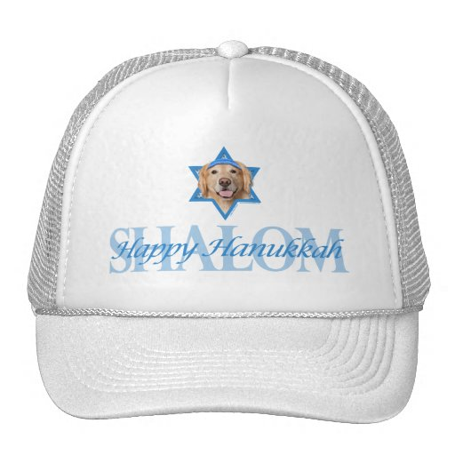 Hanukkah Star of David - Golden Retriever - Corona Trucker Hat