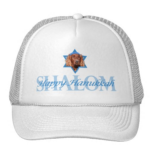 Hanukkah Star of David - Irish Setter Hat