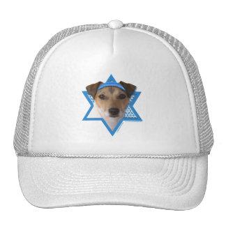 Hanukkah Star of David - Jack Russell Terrier Trucker Hat