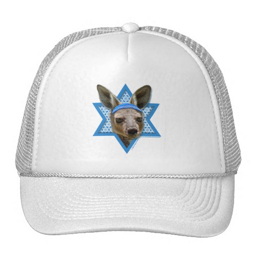 Hanukkah Star of David - Kangaroo Hat