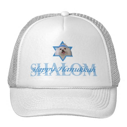 Hanukkah Star of David - Maltese Trucker Hat