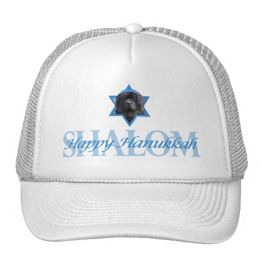 Hanukkah Star of David - Newfoundland Trucker Hats