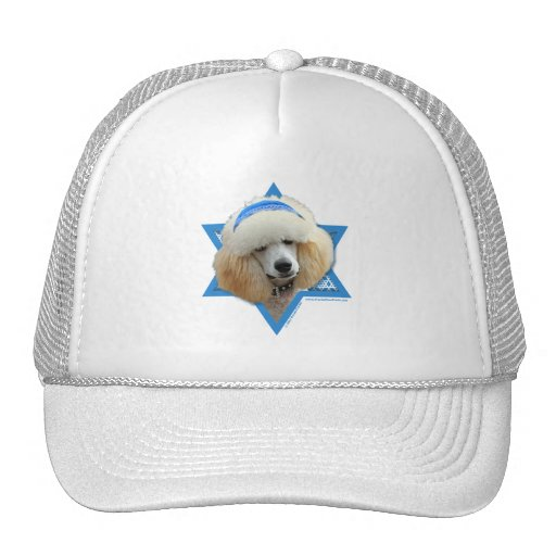 Hanukkah Star of David - Poodle - Apricot Trucker Hat