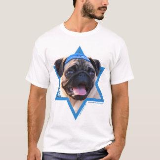 Hanukkah Star of David - Pug T-Shirt