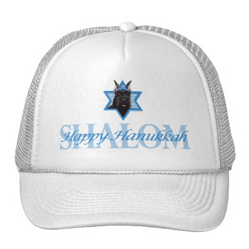 Hanukkah Star of David - Schnauzer Hats