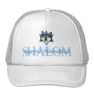Hanukkah Star of David - Shiba Inu - Yasha Trucker Hat