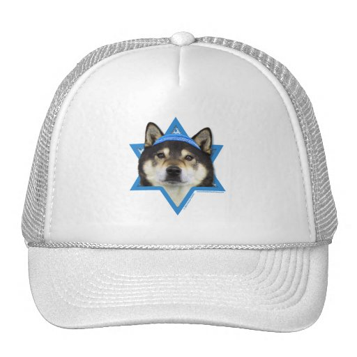 Hanukkah Star of David - Shiba Inu - Yasha Hat