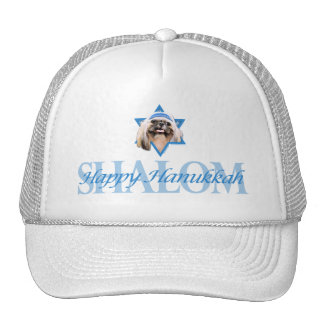 Hanukkah Star of David - Shih Tzu - Opal Trucker Hat
