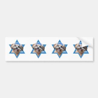 Hanukkah Star of David - ShihPoo - Maggie Bumper Stickers