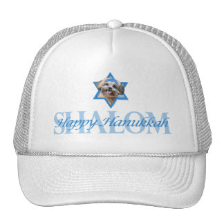 Hanukkah Star of David - ShihPoo - Maggie Mesh Hats