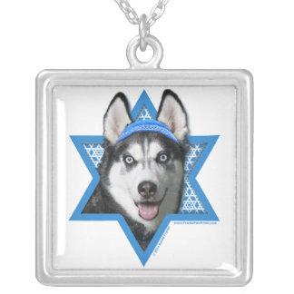 Hanukkah Star of David - Siberian Husky Custom Necklace