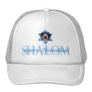 Hanukkah Star of David - Swiss Mountain Dog Trucker Hat