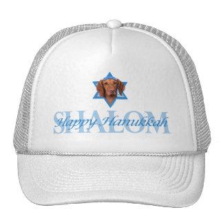 Hanukkah Star of David - Vizsla - Reagan Hat