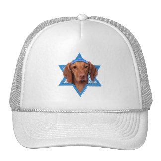 Hanukkah Star of David - Vizsla - Reagan Trucker Hat