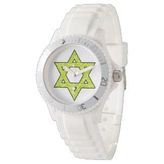 Hanukkah Star of David Watch