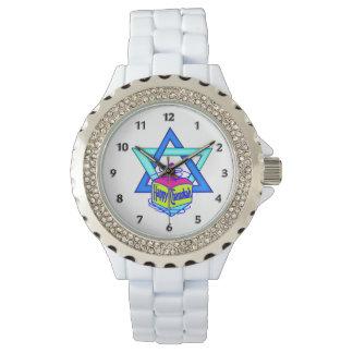Hanukkah Star of David Wrist Watch
