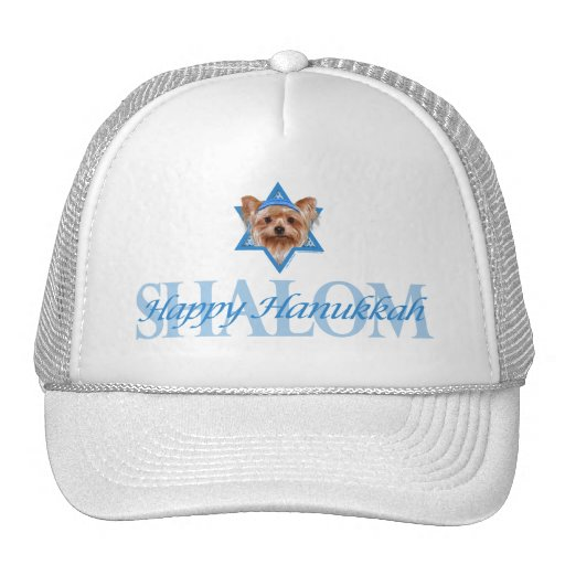 Hanukkah Star of David - Yorkshire Terrier Hats