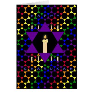 Hanukkah Stars Card