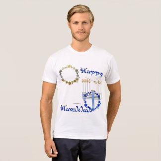 Hanukkah Stars Men's Poly-Cotton T-Shirt