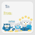Hanukkah Stickers To/From