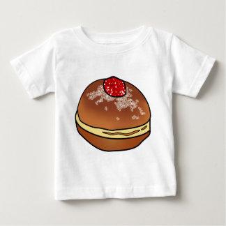 Hanukkah Sufganiyah Jelly Donut Baby T-Shirt
