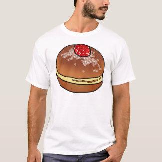 Hanukkah Sufganiyah Jelly Donut T-Shirt