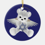 Hanukkah Teddy Bear Ornaments