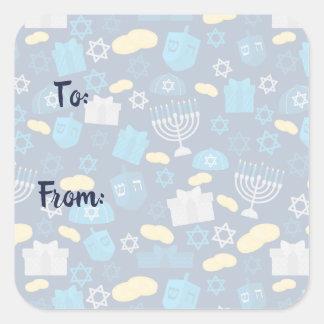 Hanukkah Themed Stickers